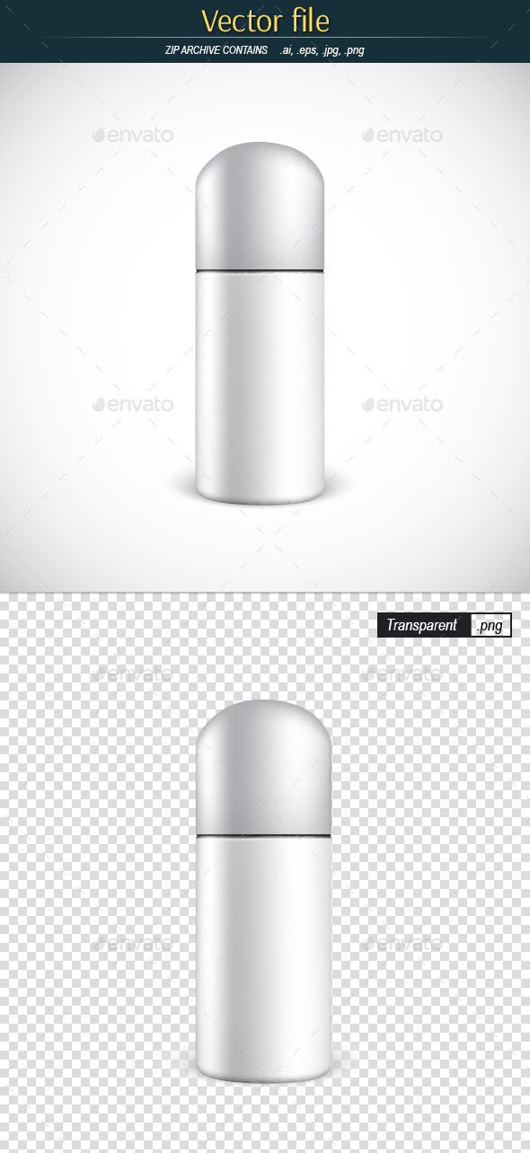 GraphicRiver Closed Aerosol Spray Metal Bottle 11562289