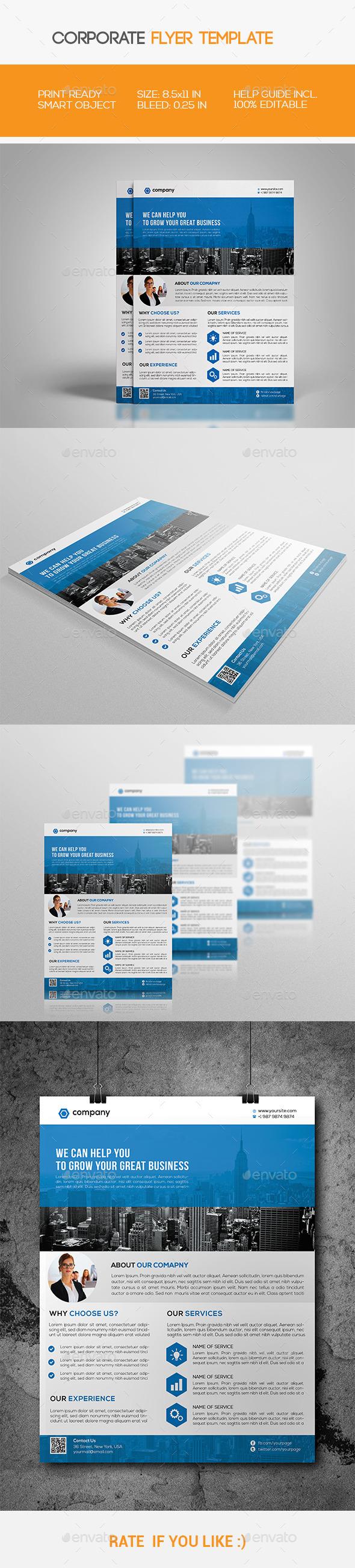 GraphicRiver Corporate Flyer 11562295