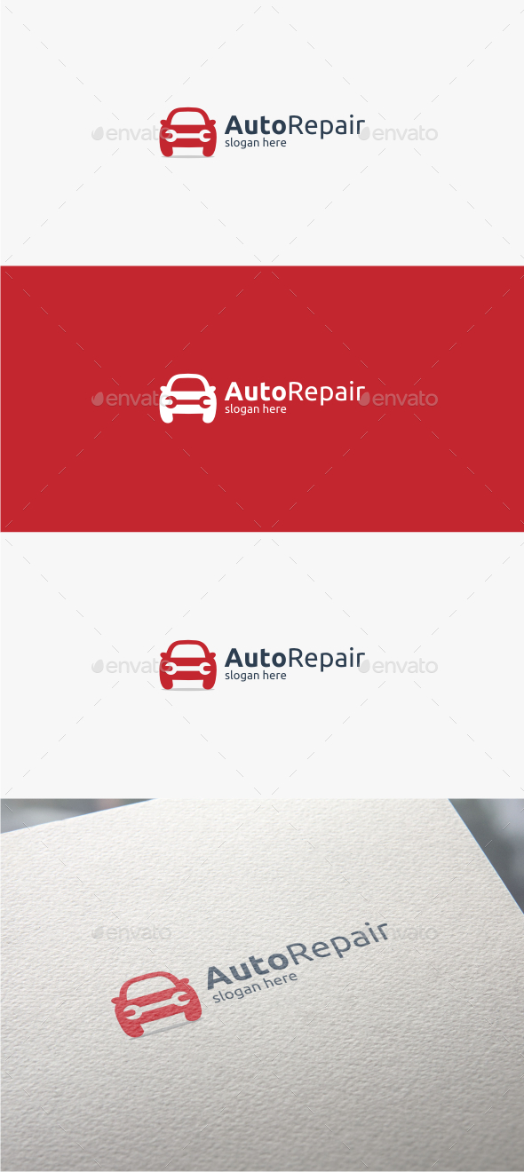 GraphicRiver Auto Repair Logo Template 11562357