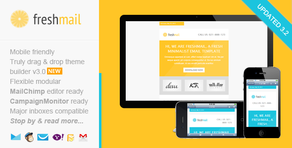 Freshmail, Responsive Email with Template Editor