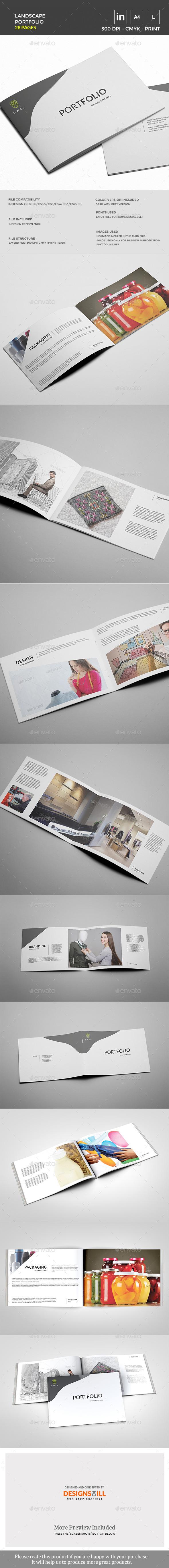 GraphicRiver Landscape Portfolio Template 11562447