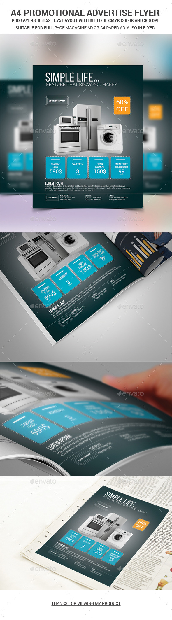 GraphicRiver Promotional Advertise Flyer 11562493