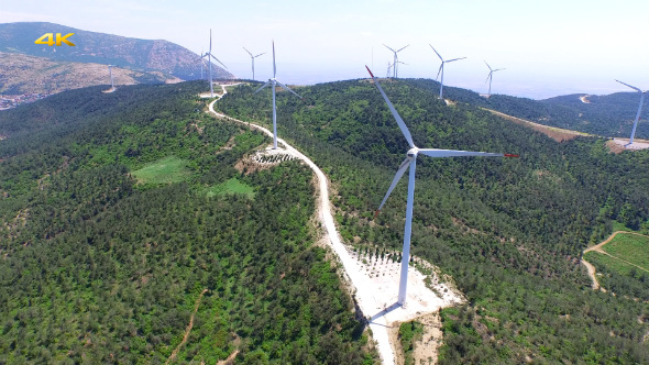 Aerial Wind Power Plant 4