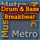 Drum and Bass Breakbeat Theme - AudioJungle Item for Sale