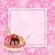 Ice Cream, Strawberries And Background - GraphicRiver Item for Sale