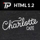 Charlotte - Café Bistro HTML Template - ThemeForest Item for Sale
