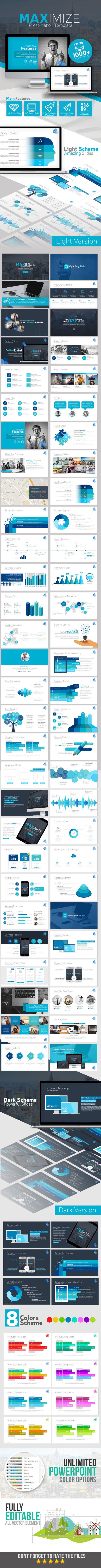 GraphicRiver MAXIMIZE Presentation Template 11563042