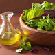 fresh salad leaves in bowl: spinach, mangold, ruccola - PhotoDune Item for Sale