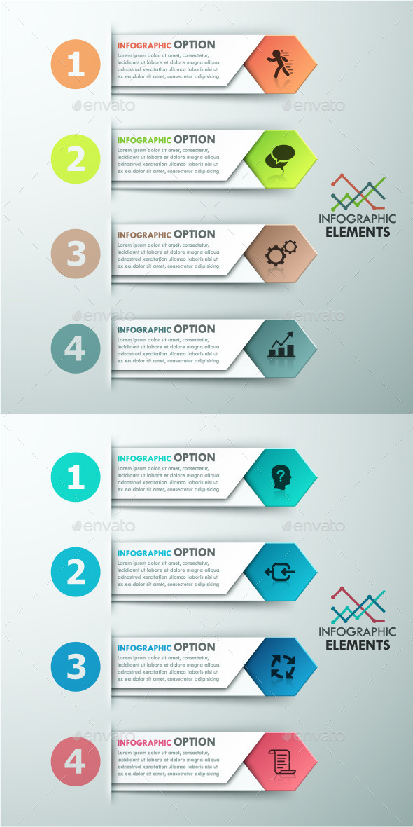 GraphicRiver Modern Infographics Options Template 2 Colors 11563203