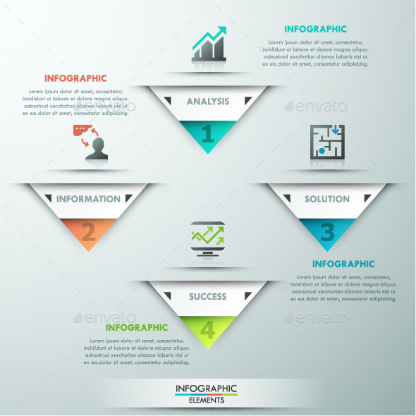 GraphicRiver Modern Infographic Paper Template 11563250