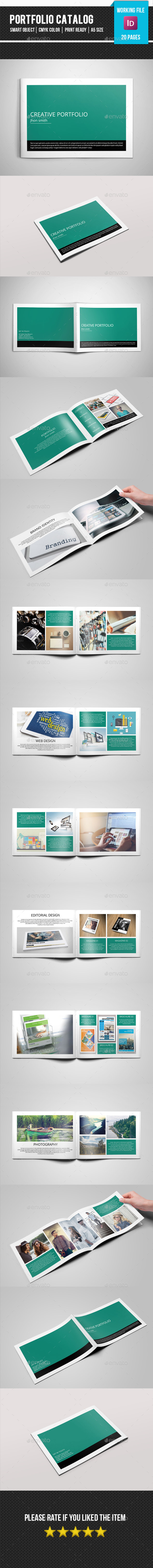GraphicRiver Portfolio Catalog Brochure-V270 11563451