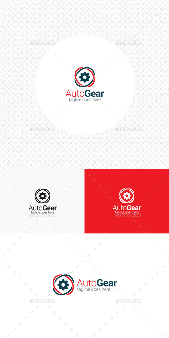 GraphicRiver Auto Gear Logo 11563569
