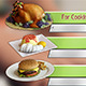 Cooking TV Lower Third Pack (5) - VideoHive Item for Sale