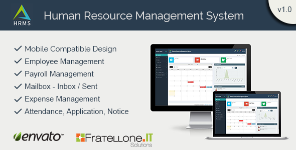 CodeCanyon Human Resource Management System HRMS 11545476