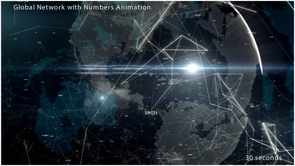 Global Network with Numbers