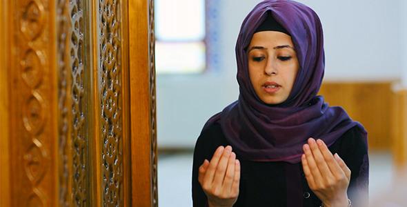 Dua Pray in Mosque