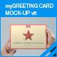 myGreeting Card Mock-up v6 - GraphicRiver Item for Sale