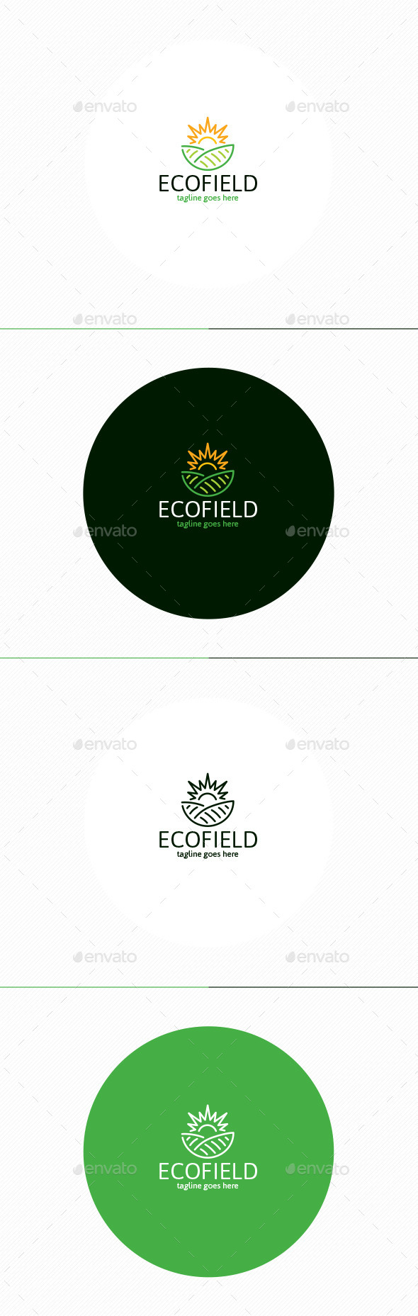 GraphicRiver Eco Field Logo 11565049
