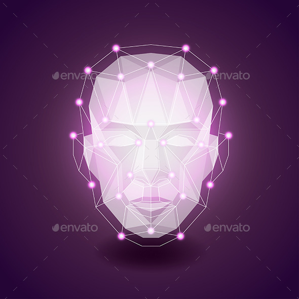 GraphicRiver Polygonal Face 11565104