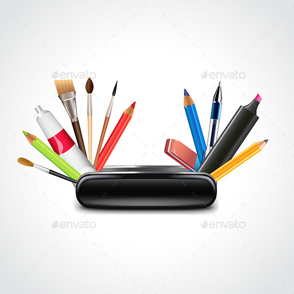 GraphicRiver Swiss Knife for Designer Vector Illustration 11565106