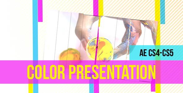 After Effects Project - VideoHive Color Presentation Project 1161720