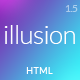 illusion - Premium Multipurpose HTML Template - ThemeForest Item for Sale