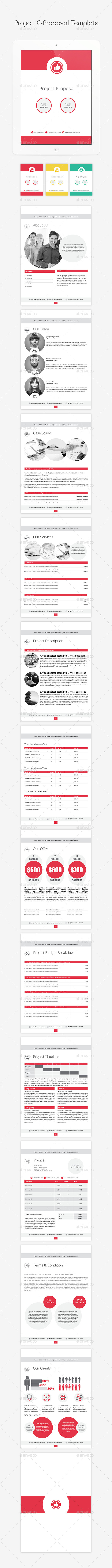 GraphicRiver Project E-Proposal Template 11565705