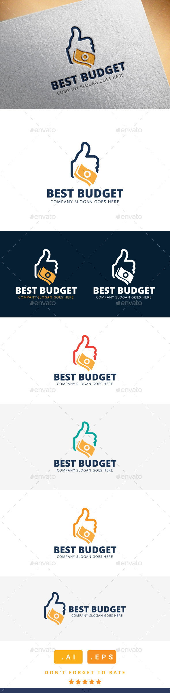 GraphicRiver Best Budget Logo 11565733