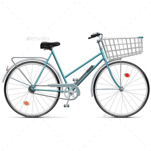 GraphicRiver Bicycle with Cart 11565886