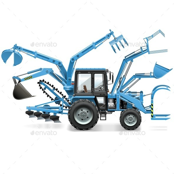 GraphicRiver Multi Tractor 11565981