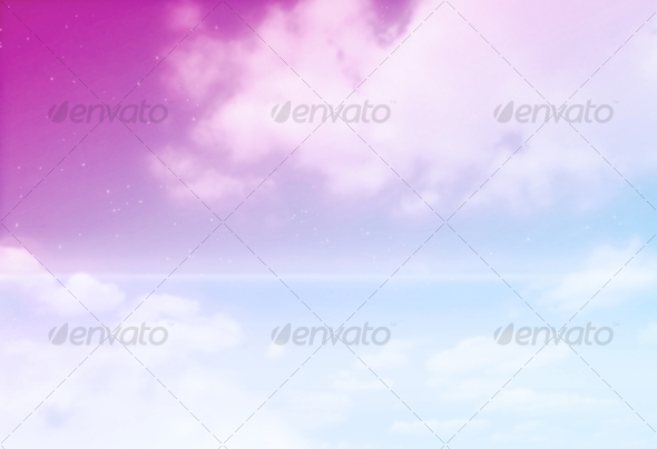 GraphicRiver Flight Over The Ocean Abstract Background 47028