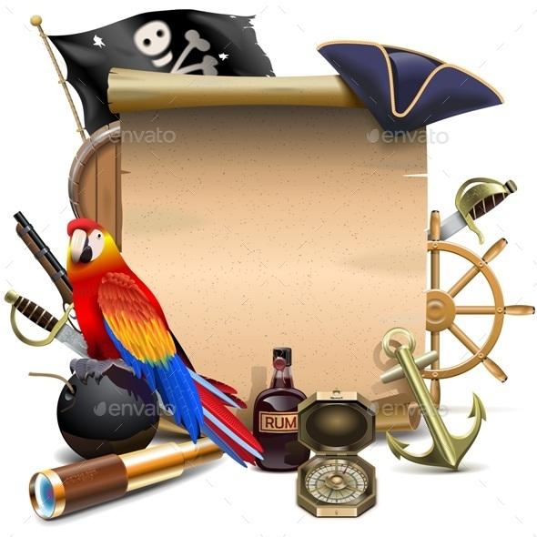 GraphicRiver Pirate Frame 11565990