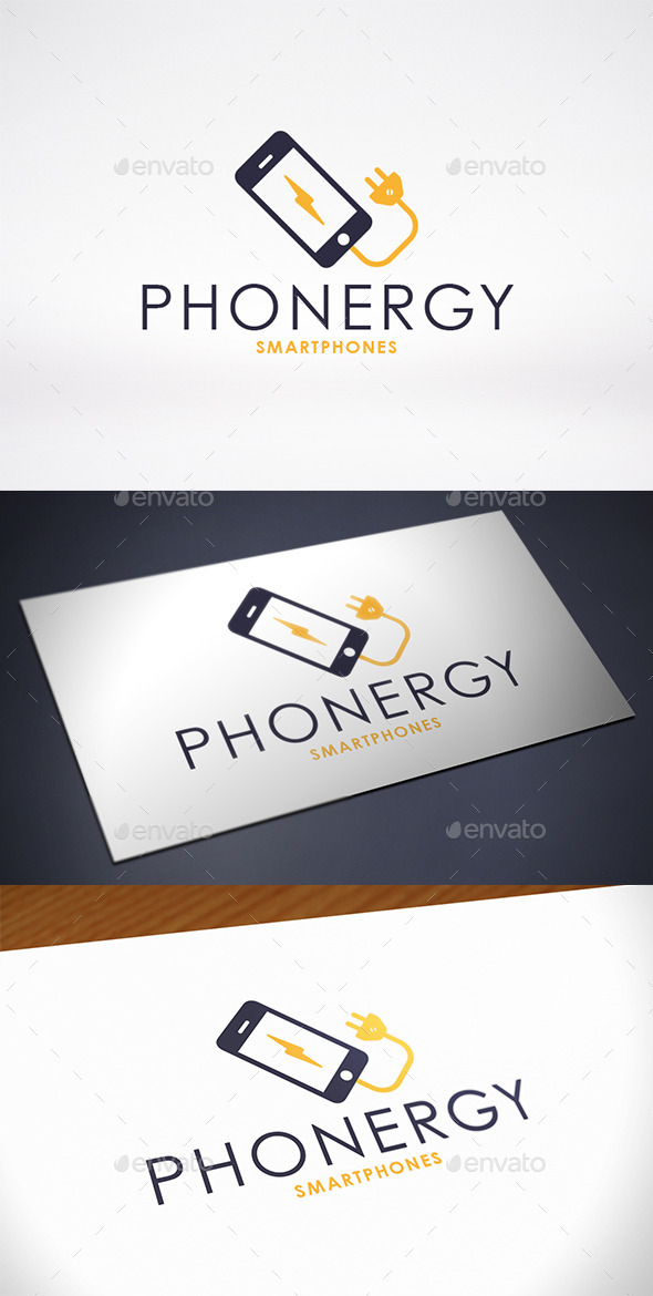 GraphicRiver Phone Charge Logo Template 11566157