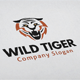 Wild Tiger Logo - GraphicRiver Item for Sale