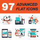 Advanced Flat Web Ions - GraphicRiver Item for Sale