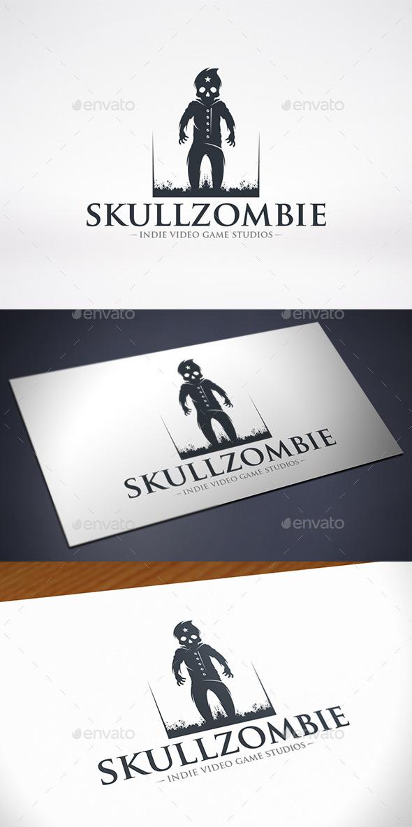 GraphicRiver Skull Zombie Logo Template 11566531
