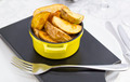 fried potatoes on a plate in a restaurant - PhotoDune Item for Sale