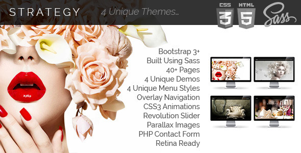 ThemeForest Strategy Multi Purpose Responsive Templates 11331730
