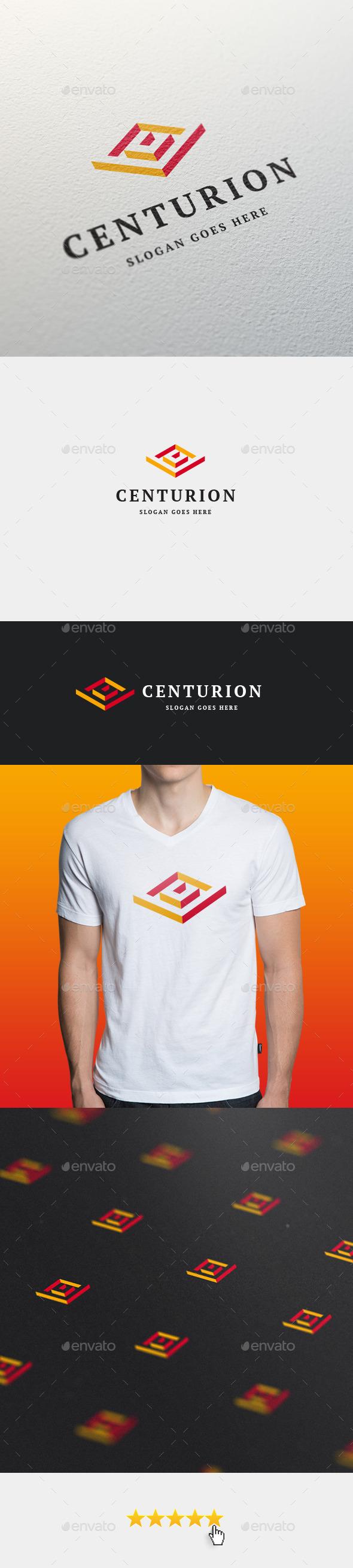 GraphicRiver Centurion Letter C Logo Template 11566665