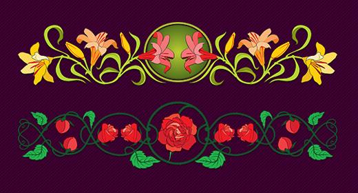 Floral Friezes