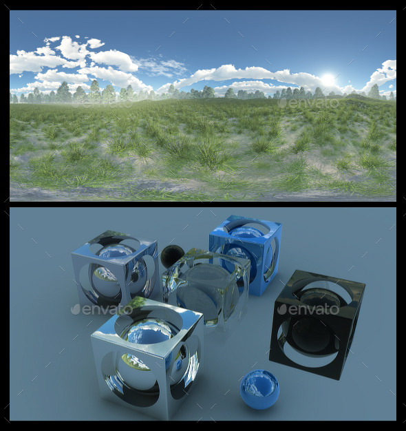3DOcean Meadow HDRI 11569195