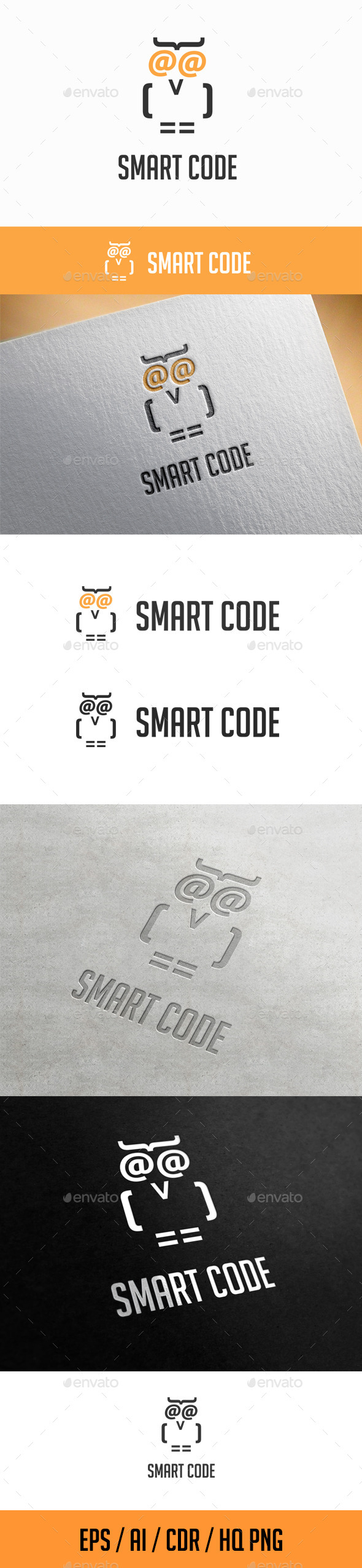 GraphicRiver Smart Code Logo Template 11569222