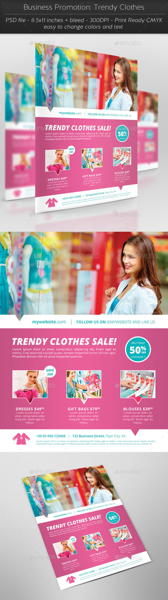 GraphicRiver Business Promotion Trendy Clothes 11569302