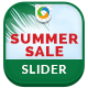 Summer Sale Slider - GraphicRiver Item for Sale