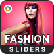 Fashion Sale Sliders - 4 Designs - GraphicRiver Item for Sale