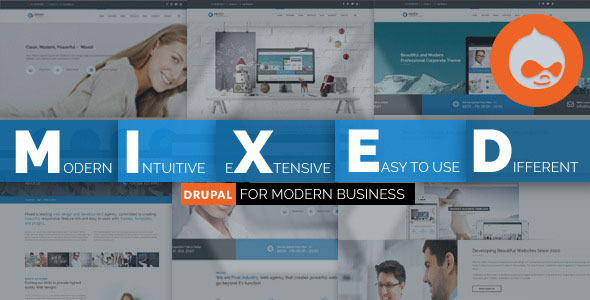 Mixed - Modern Drupal Theme