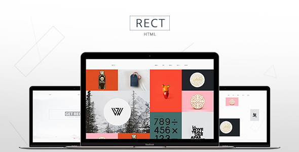 ThemeForest RECT Clean Personal & Agency Portfolio 11470304