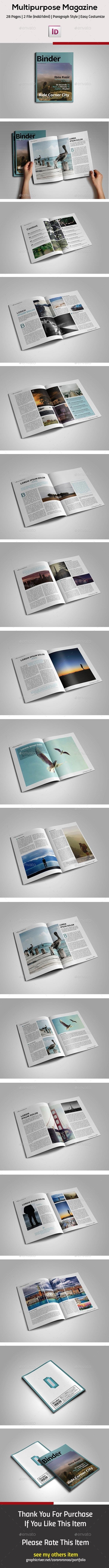 GraphicRiver Magazine Template 11569786