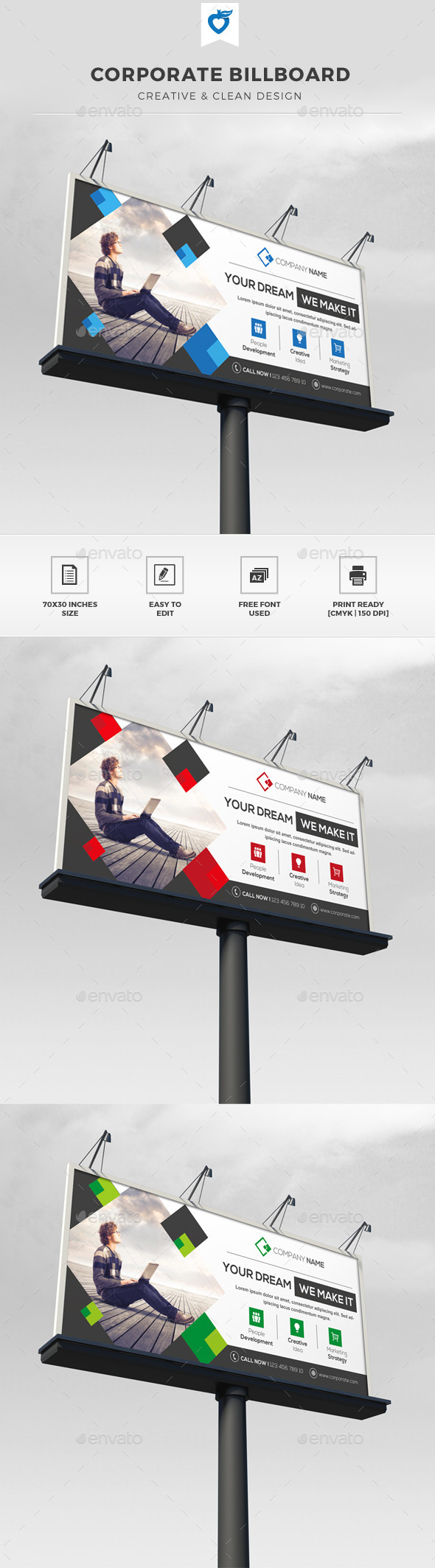 GraphicRiver Corporate Billboard 11570007