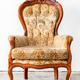 Brown Retro Chair - PhotoDune Item for Sale